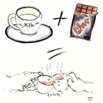 Chocolat lait tchin