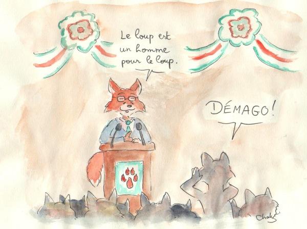 Discours politique démago Hobbes