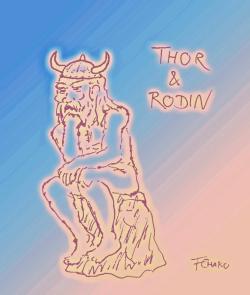 Thor et Rodin