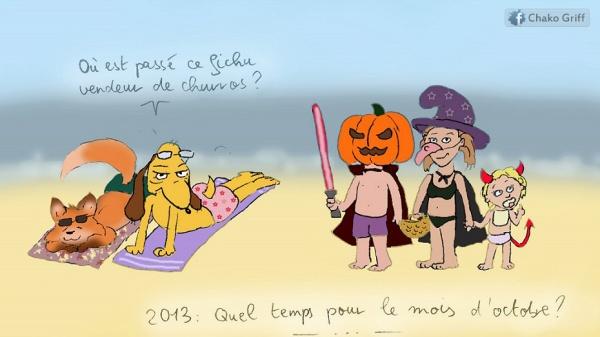 plage halloween