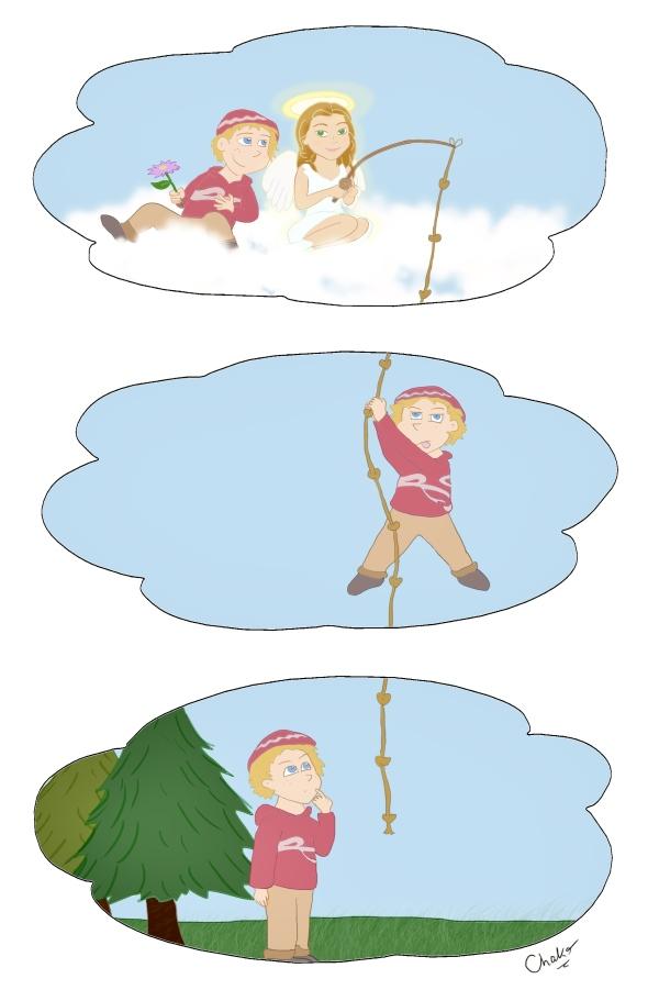 pêche aux anges